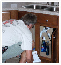 Condo Care Inspection - Sink Leaks